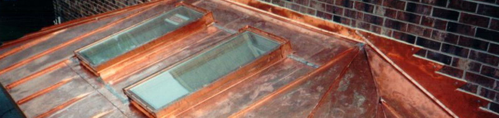 Copper Roof and Skylights
